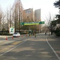 Photo taken at Konkuk University by Soomin(Simon) S. on 2/28/2013
