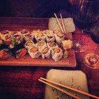 Photo taken at Blue Ribbon Sushi by Vaquita M. on 4/12/2013