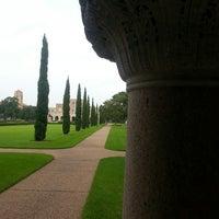 Photo taken at Lovett Hall (Rice University) by Juan L. on 7/18/2014
