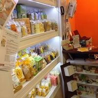 Photo taken at CAPOVERSO Prodotti Vegan, Bio, Ecocompatibili, Equosolidali by Fabiana G. on 10/17/2014