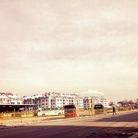 Photo taken at Autobuska stanica by Izz V. on 1/27/2014