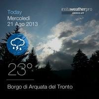 Foto scattata a Borgo di Arquata del Tronto da Massimiliano C. il 8/21/2013
