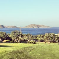 Photo taken at Porto Elounda Golf & Spa Resort by Ilias K. on 8/3/2013