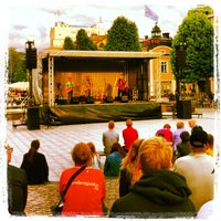 Photo taken at Stortorget by Christer H. on 5/28/2013