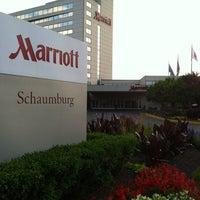 Photo taken at Chicago Marriott Schaumburg by Hope P. on 9/30/2013