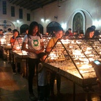 Photo taken at National Shrine of Our Mother of Perpetual Help by glaiza c. on 3/27/2013
