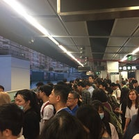 Photo taken at MTR Kowloon Bay Station by Ming C. on 10/24/2016