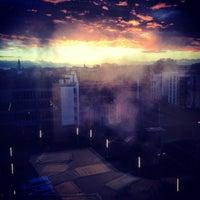 Photo taken at Bestuursgebouw Universiteit Maastricht by Wang Z. on 2/7/2014