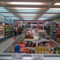 Photo taken at Supermercado Emilio Luque by Esteban on 1/26/2013