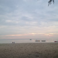 Photo taken at Port Dickson Beach by Muhamad F. on 12/22/2013