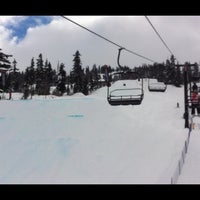 Photo taken at Nintendo Highest Level Terrain Park (Dark Park) by Matt S. on 3/14/2014
