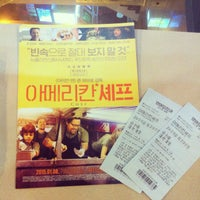Photo taken at LOTTE CINEMA by Jamie L. on 12/19/2014