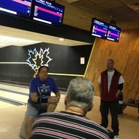 Photo taken at Maple Lanes by Jeremy B. on 11/15/2012