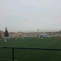 Photo taken at Abdurrahman Temel Futbol Sahası by Cem S. on 11/29/2016