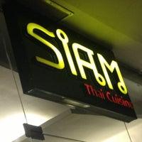 Photo taken at Siam Thai Cuisine by Goddessa S. on 6/9/2013