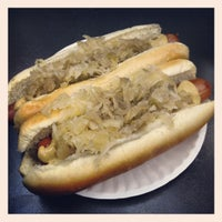 Photo taken at Papaya Dog by Colleen L. on 11/7/2012