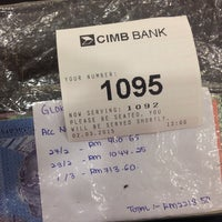 Photo taken at CIMB Bank by Aidil A. on 3/2/2015