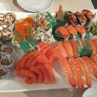 Photo taken at Ginza Sushi by Pejman K. on 1/18/2015