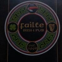 Photo taken at Failte Irish Pub by Sherrie R. on 2/13/2013
