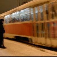Photo taken at Трамвайна станція «Семена Скляренка»/Semena Skl'arenko tram station by Лёхус V. on 12/9/2013