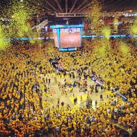 Photo taken at Oracle Arena by Eric A. on 5/12/2013