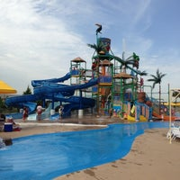 Photo taken at Hawaiian Falls by Plenty W. on 6/28/2013