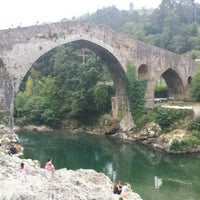Photo taken at Cangas de Onís by Johanna F. on 7/21/2015