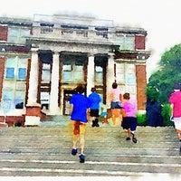 Photo taken at Oglebay Hall by Jeff T. on 7/1/2014
