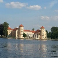 Photo taken at Schloss Rheinsberg by Antje B. on 7/27/2013