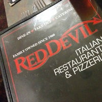 Photo taken at Red Devil Italian Restaurant & Pizzeria by olllllo on 7/12/2014