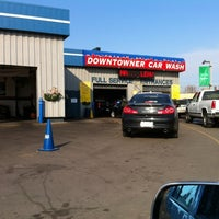 Photo taken at Downtowner Car Wash by Derek on 11/19/2012