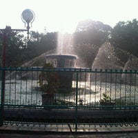 Photo taken at Alun-Alun Kota Malang by wivia vivi on 11/3/2012