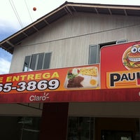 Photo taken at Paulinho Lanches by Kamilla N. on 3/27/2014