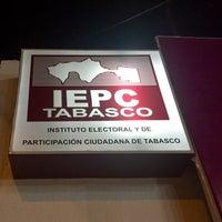 Photo taken at IEPC [Instituto Electoral y de Participación Ciudadana de Tabasco] by Alonso C. on 2/12/2016