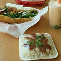 Photo taken at Banh mi Saigon sandwiches & bakery by Eric C. on 8/15/2016