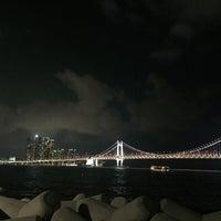 Photo taken at 남천해변 벽화거리 by Damon J. on 9/10/2016