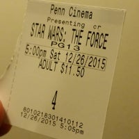 Photo taken at Penn Cinema & IMAX by Curt J. on 12/27/2015