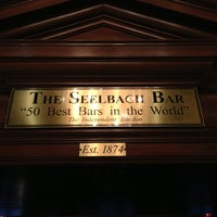 Photo taken at The Seelbach Hilton Louisville by Jim C. on 10/11/2012