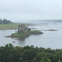 Photo taken at Castle Stalker View Cafe by Reto S. on 8/10/2016