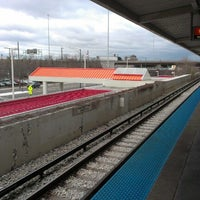 Photo taken at CTA - Halsted by Carlos A. on 12/26/2012