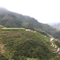 Photo taken at Banaue Rice Terraces Viewpoint by Takahide on 4/30/2016