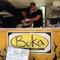 Photo taken at Boka Tako Truck by Adam K. on 6/20/2013