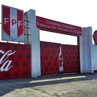 Photo taken at Federación Peruana de Futbol by Karina S. on 12/27/2012