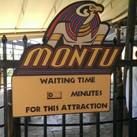 Photo taken at Montu by Phil J. on 6/9/2013