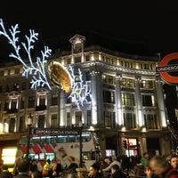 Photo taken at Oxford Circus by Viktor K. on 12/28/2012