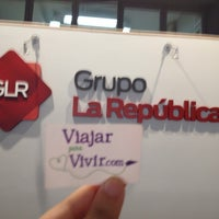 Photo taken at Diario La República by Analucia R. on 9/24/2014