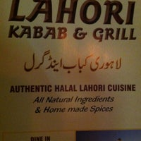 Photo taken at Lahori Kebab Grill by Suzanne, L. on 9/2/2013
