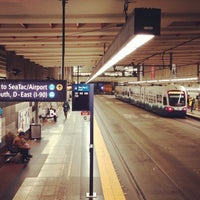 Photo taken at University Street LINK Station by Eric T. on 12/10/2012