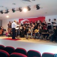 Photo taken at Eyup Musiki Cemiyeti by İsmail K. on 4/27/2014