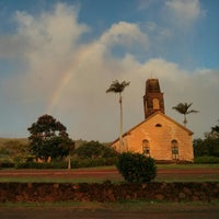 Photo taken at Waimea High School by Rick K. on 12/19/2012